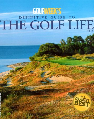 """Page 1 """" DEFINITIVE GUIDE TO THE GOLF LIFE 2010 Page 2 .M C ..."""