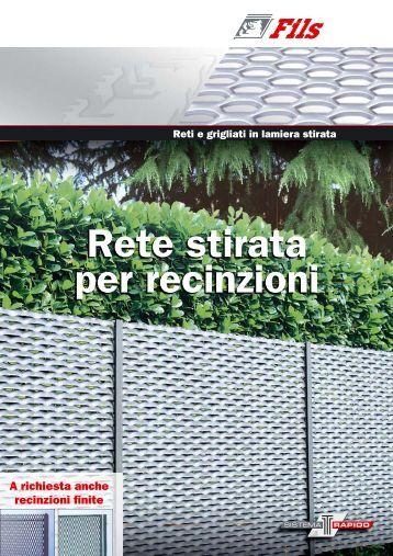 Grate e recinzioni ferro scaramuzza for Rete stirata per cancelli