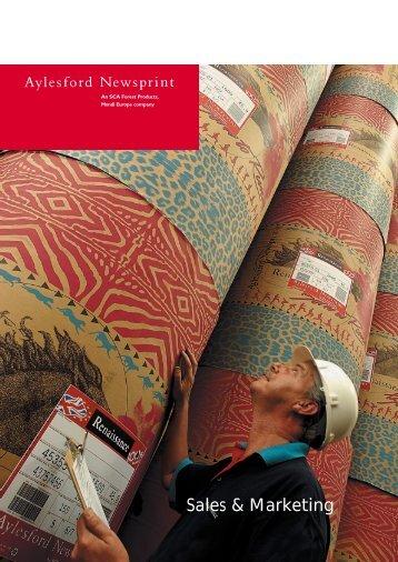 Sales & Marketing - Aylesford Newsprint