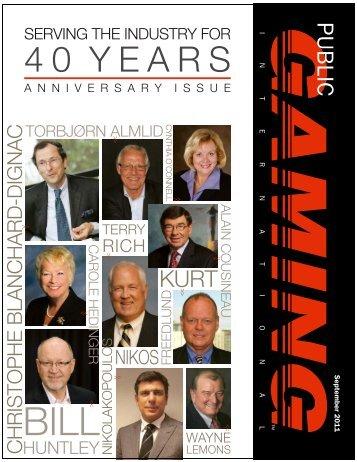 Public Gaming Magazine September 2011