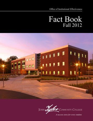 Fact Book Fall 2012 - John Tyler Community College