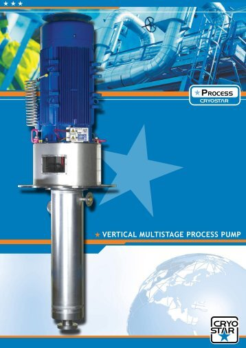VERTICAL MULTISTAGE PROCESS PUMP - Cryostar