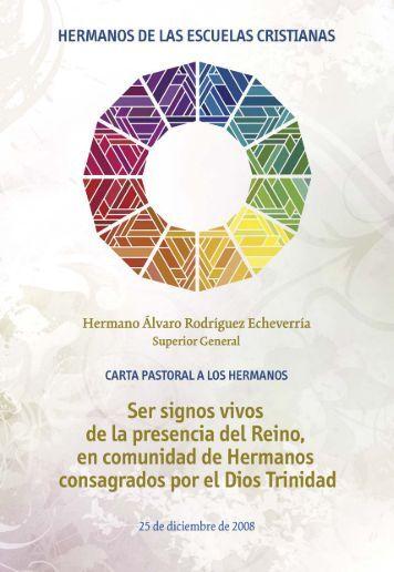 Carta Pastoral 2008.pdf - Hermanos de las Escuelas Cristianas