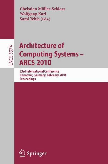 Architecture of Computing Systems (Lecture Notes in Computer ...