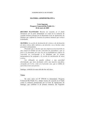 MATERIA ADMINISTRATIVA - U-Cursos