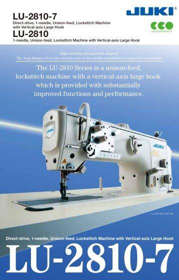 Juki Sewing Machine User Manuals Download - ManualsLib