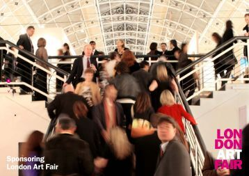 Sponsoring London Art Fair 1
