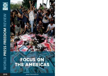 FOCUS ON THE AMERICAS - International Press Institute