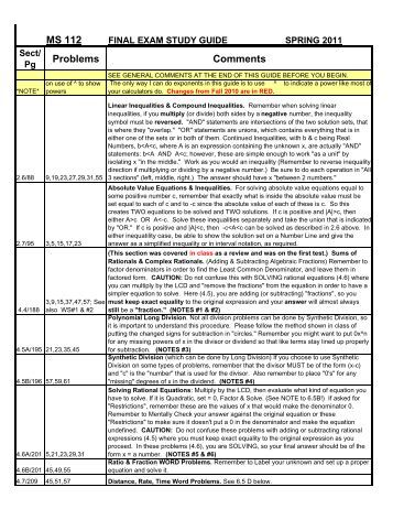 ams 10 final study guide Biology starr study guide this study guide contains tips on how to prepare for the test and some strategies students might use to perform their best during the test.