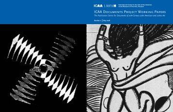 Número 2 Mayo 2008 - Documents of 20th-Century Latin American ...