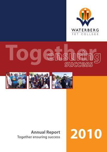 Annual Report 2010 - waterberg fet college