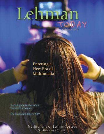 Spring 2010 Issue - Lehman College