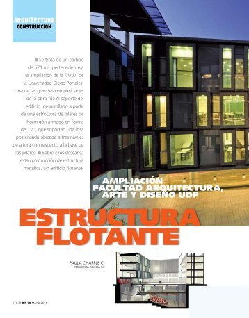 estructurA FlotAnte - Biblioteca