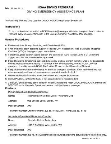 padi emergency action plan template - emergency assistance plan sabang puerto taucher net