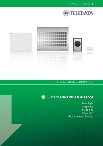 Scarica Catalogo PDF - Teledata