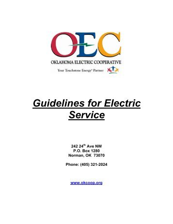 Channel guide for service electric