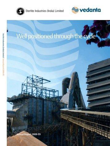 Download PDF Format - Sterlite Industries India Ltd.