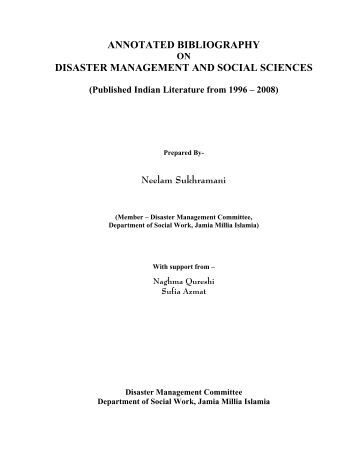 annotated bibliography classroom management Dig deeper into the specific articles, studies, and reports included in our social emotional research review.