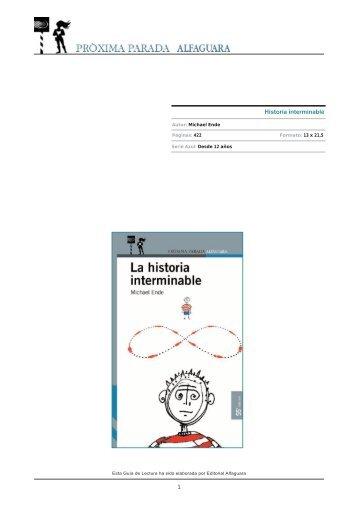 Historia interminable - Alfaguara