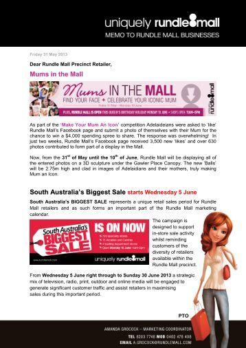 Friday 31 May 2013 - Rundle Mall