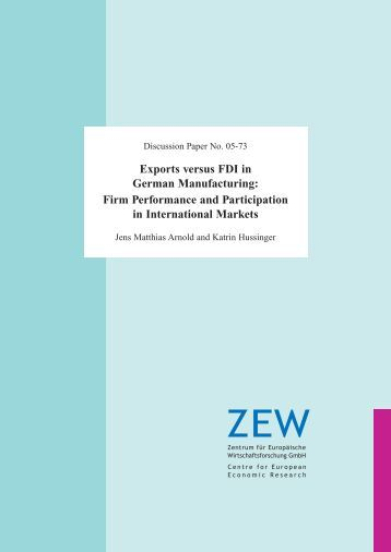 horizontal fdi and vertical fdi We study patterns of foreign direct investment (fdi) in a multi-country world  economy  the model predicts a linder hypothesis for horizontal fdi, which is   for one, these data capture both horizontal fdi and vertical fdi, whereas our .