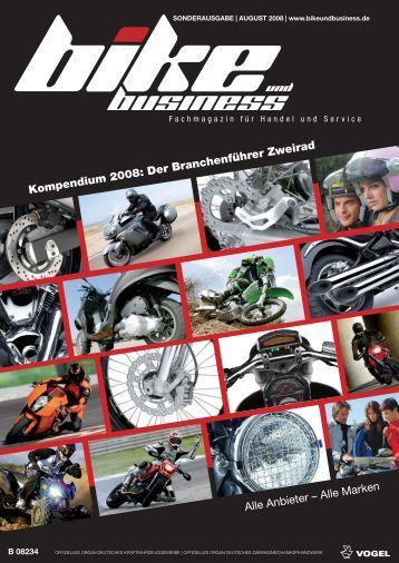 Kompendium 2008: Der Branchenführer Zweirad Alle ... - Kfz-Betrieb