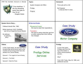 plattsburgh motor service case study View homework help - plattsburgh motor service case from mktg 330 at west virginia university case study 6 group 5 plattsburgh motor service this family owned business, started in 1924, is located.