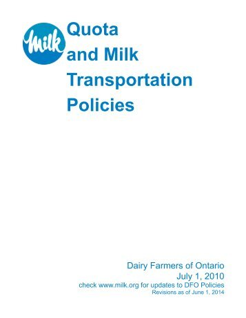 English - Dairy Farmers of Ontario