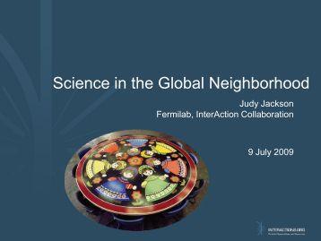 Science in the Global Neighborhood