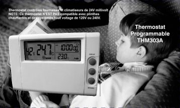 Thermostat Programmable THM303A - UPM Marketing