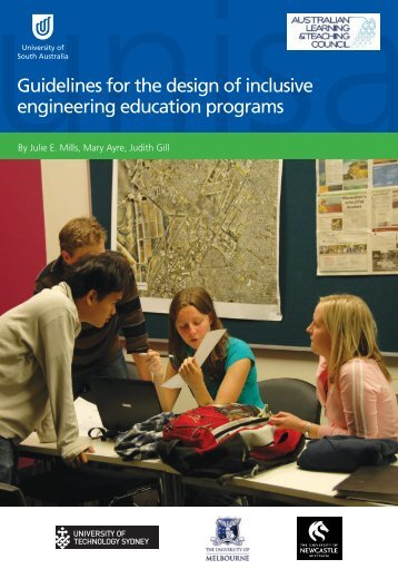 Guidelines for the design of inclusive engineering education programs