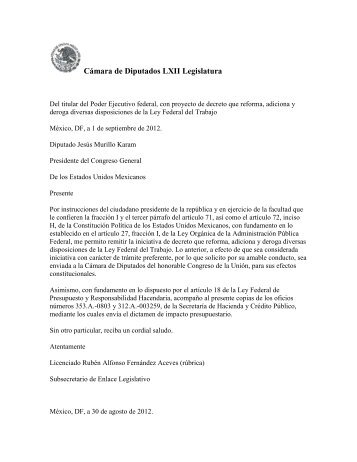 Reforma Laboral - Secretaría del Trabajo y Previsión Social