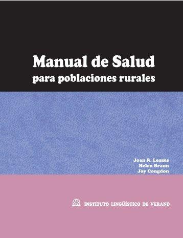 Manual de salud para poblaciones rurales - Sil.org