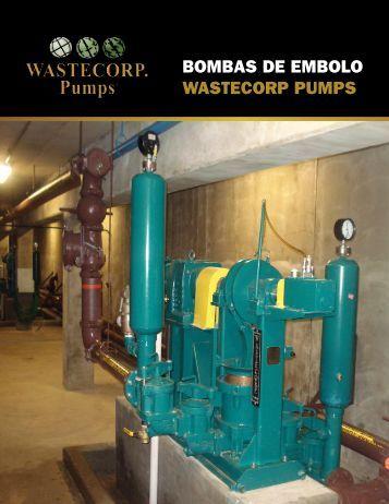 Bombas de Embolo Wastecorp Pumps