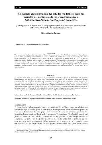 Relevancia en Sistemática del estudio mediante ... - Educarm