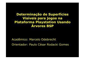 Determinação de Superfícies Visíveis para jogos na Plataforma ...