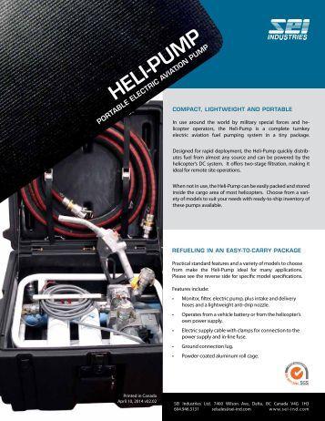 Heli-Pump Brochure - SEI Industries Ltd.