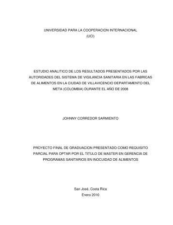 invima - Universidad para la Cooperación Internacional