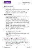 Info Pack - Webmaster & Web Development Lead - Page 4
