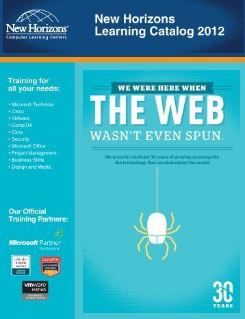 New Horizons Learning Catalog 2012