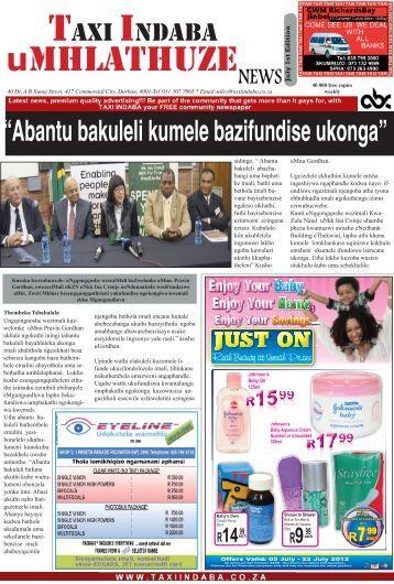 umhlathuze - taxiindaba.co.za