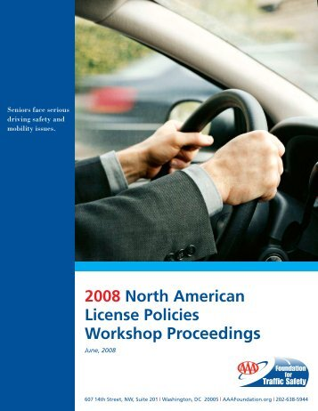 Workshop Proceedings - AAA Foundation for Traffic Safety