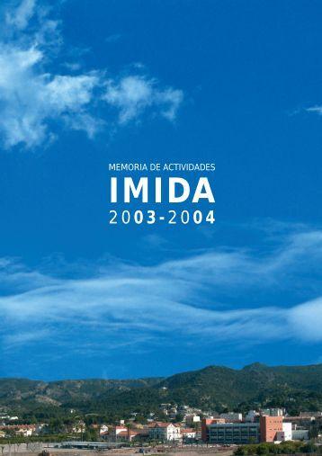 MEMORIA DE ACTIVIDADES - imida