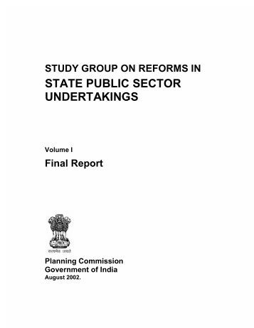 performance of public sector enterprises in Evaluating the performance of public enterprises  this paper is a product of the public sector management and private sector  performance evaluation of public.
