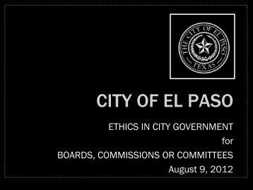 Elpasotexas Gov - Home - City of El Paso