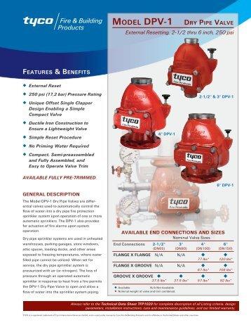 Dry Pipe Sprinkler System Accelerator Reliable B 1