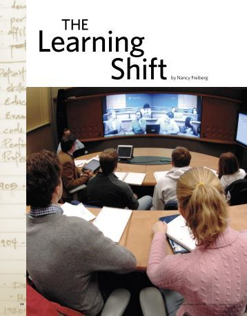 Shiftby Nancy Freiberg - Center for New Designs in Learning and ...
