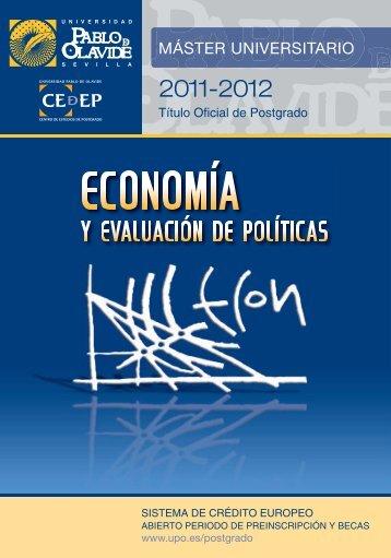 nuevo folleto para el próximo curso - Universidad Pablo de Olavide