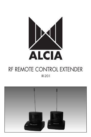 atlas ocap 5 device remote control manual