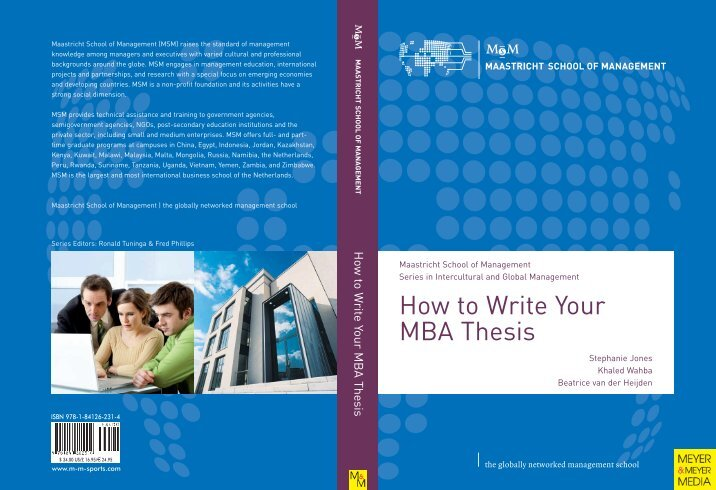 Write my topics for mba dissertation